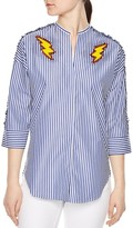 Sandro Embellished Fire Shirt