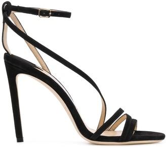Jimmy Choo Tesca 100 high heel sandals
