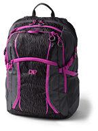 Lands' End Digital ClassMate Large Backpack - Print-Soapstone