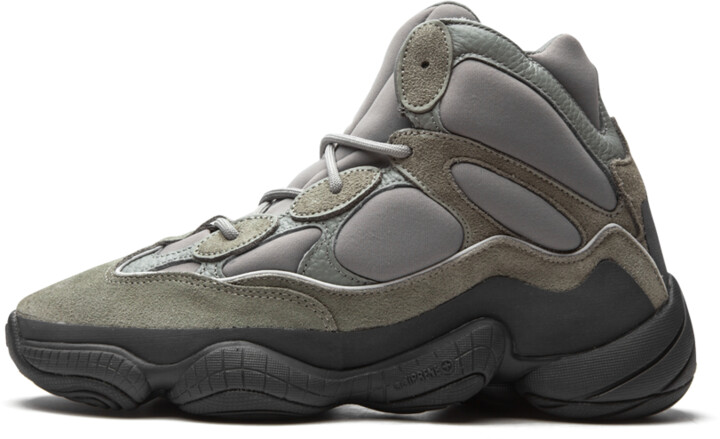 Adidas Yeezy 500 High 'Mist Slate' Shoes - Size 5