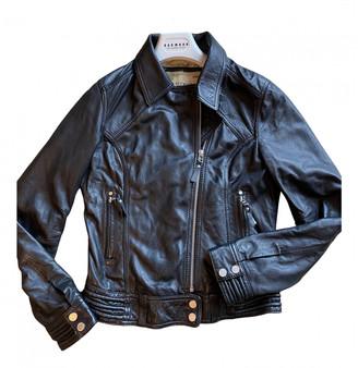 Oakwood Black Leather Jackets