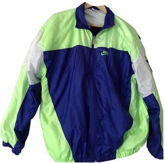 Nike Green Synthetic Jackets