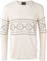 Laneus studded jumper - men - Cotton/acrylates/c10-30 alkyl acrylate crosspolymer - 46