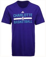 adidas Men's Charlotte Hornets On Court Graphic Climalite T-Shirt