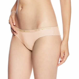 Emporio Armani Women's Basic Cotton Brazilian Brief
