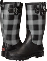 Chooka Lumber Buffalo Plaid Rain Boot