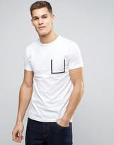 French Connection Outline Pocket T-Shirt