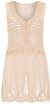 Dorothy Perkins Nude sequin embellished dress