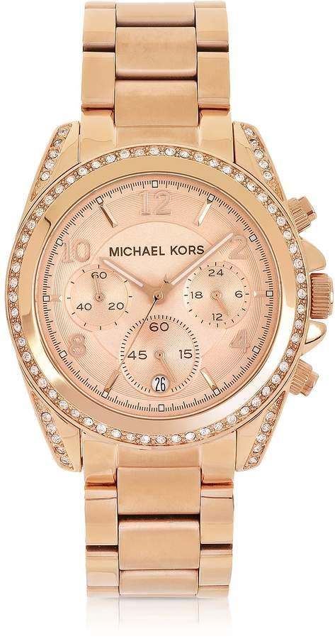 8661e5c57447 Michael Kors Women s Glitz Watch - ShopStyle