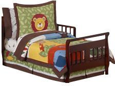 JoJo Designs Sweet Jungle Time 5 Piece Toddler Bedding Set