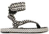 Etoile Isabel Marant Étoile Epipa sandals - women - Leather/Polyester - 39