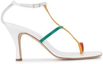 CHRISTOPHER ESBER Rubik tri-colour sandals
