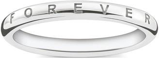 Thomas Sabo Sterling Silver Together Forever Ring