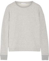 James Perse French Cotton-terry Sweatshirt - Gray