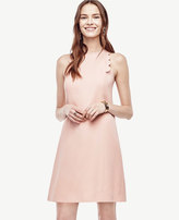 Ann Taylor Petite Scalloped Shift Dress