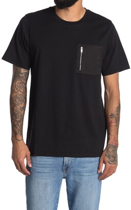 Ovadia And Sons Patch Zip Pocket T-Shirt