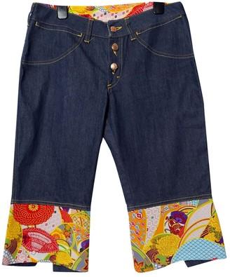 Evisu Blue Denim - Jeans Jeans