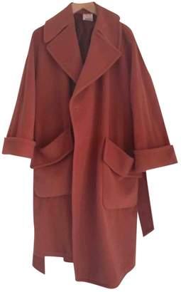 Loewe Orange Cashmere Coat for Women Vintage