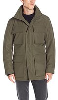 Andrew Marc Men's Winthrop City Rain 4 Pocket Anorak