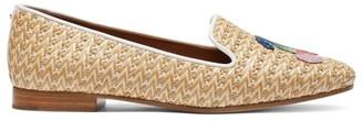 Kate Spade Lounge Cherries Raffia Loafers