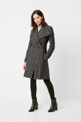French Connection Bella Rossa Ceri Tweed Coat