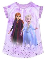 Disney Frozen Frozen 2 Toddler Girl Short Sleeve Nightgown Pajamas