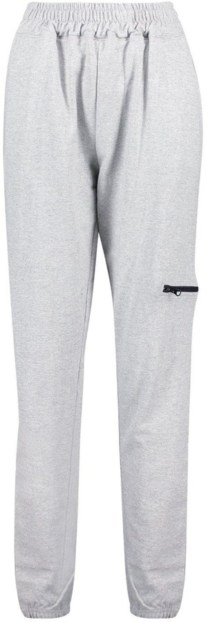 Thumbnail for your product : boohoo Tall Zip Pocket Joggers