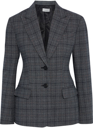 A.L.C. Landis Prince Of Wales Checked Woven Blazer