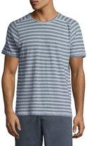 John Varvatos Striped Short-Sleeve T-Shirt, Blue