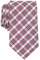 Nautica Silk Blend Red Plaid Tie