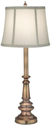 Stiffel   Lite Tops Stiffel Buffet Lamp, Antique Brass