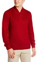 U.S. Polo Assn. Men's Marl Crossover Sweater