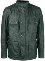 Belstaff cargo jacket - men - Cotton/Viscose - 48
