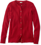 L.L. Bean Classic Cable Sweater, Cardigan
