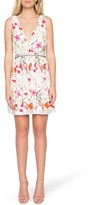 Willow & Clay Women's Floral Surplice Dress