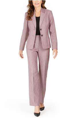 Le Suit Petites 2-Button Pants Suit