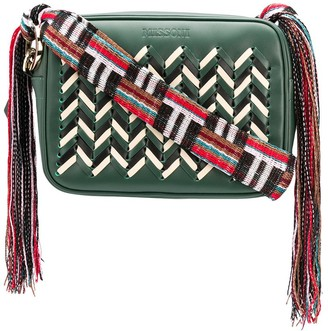 Missoni Woven Zigzag Cross Body Bag