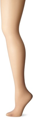 Just My Size Women's Run Resistant Control Top Panty Hose