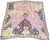Ungaro 100% Authentic Vintage Silk Large Scarf Paisley Prints