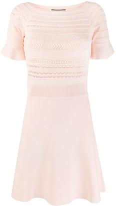 Emporio Armani Knitted Midi Dress