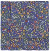 Liberty London Bird Floral Cotton Handkerchief