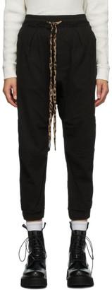 R 13 Black Harmen Lounge Pants