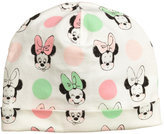 H&M Patterned Jersey Hat - White/Minnie Mouse - Kids