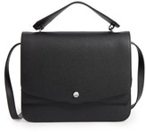 Elizabeth and James Eloise Leather Shoulder Bag - Black