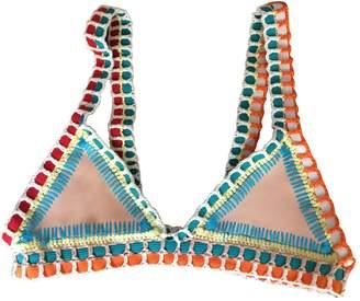Kiini Beige Polyester Swimwear