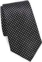 Saks Fifth Avenue Made in Italy Men's Micro Floral Silk Tie