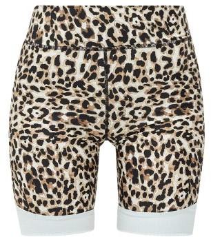 The Upside Water Leopard-print Stretch-jersey Shorts - Leopard