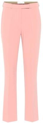 Etro Mid-rise straight crepe pants