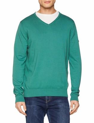 Camel Active Men's V-Neck Pullover Sweater
