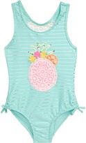 Flapdoodles Pineapple One-Piece Swimsuit